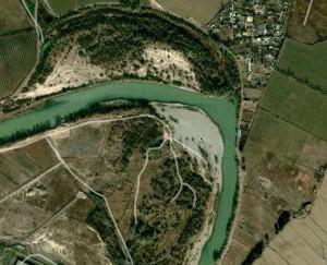 Google Maps - Margen izquierda - Meandros