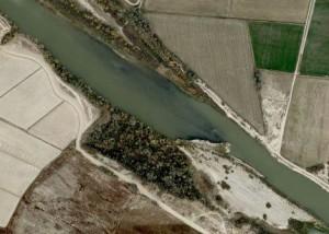 Google Maps - Orilla derecha del Ebro