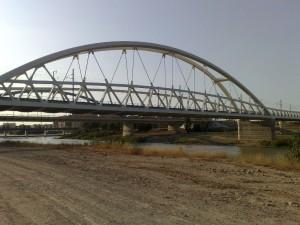 Puente del AVE y Puente Giménez Abad