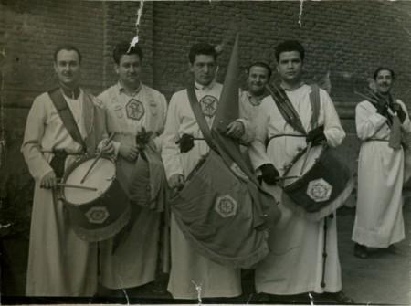 Algunos hermanos en los años 40