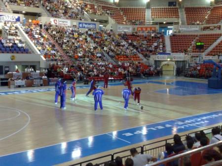 Inicio del espectáculo: Harlem Globetrotters en Zaragoza