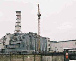 Sarcófago de la central nuclear de Chernóbil