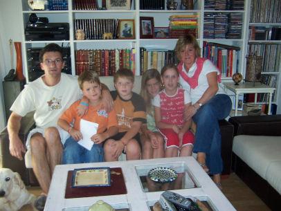Alexia con nosotros en 2006
